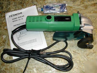 Hitachi 16 gauge electric metal shear cutter