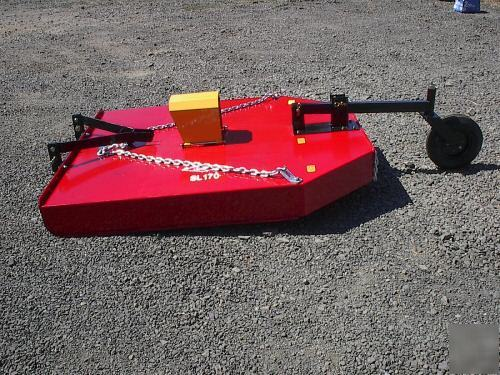 New 66 Brush Hog Mower Sl170n Cat 1 3pt 30 50hp Rating