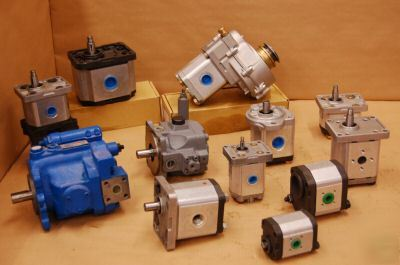 Replacement hydraulic motors / pumps repaired/supplied