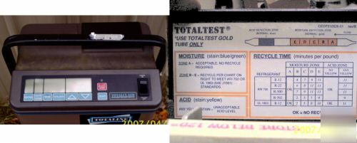 Totalclaim model 12RA001100 refrigerant recovery unit