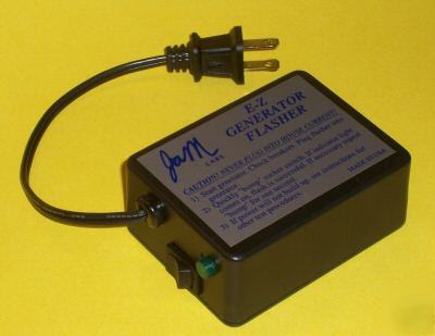 Jam labs e-z generator field flasher service tool