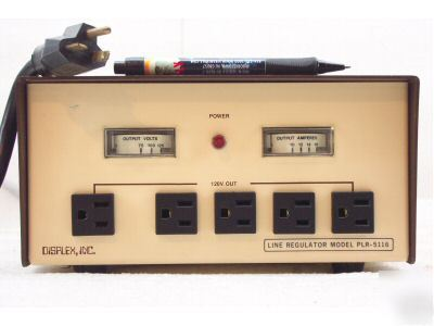 Displex plr-5116 ac line conditioner regulator