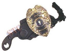 Knife karambit hostage rescue w badge holder w chain