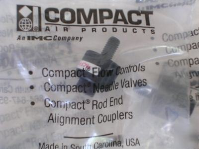 5 compact rod alignment couplers for air cylinder 10-32