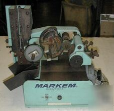 Markem 146A round surface marking machine for wire