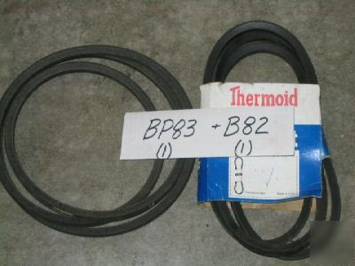 V belt BP83 dayco super blue B82 thermoid