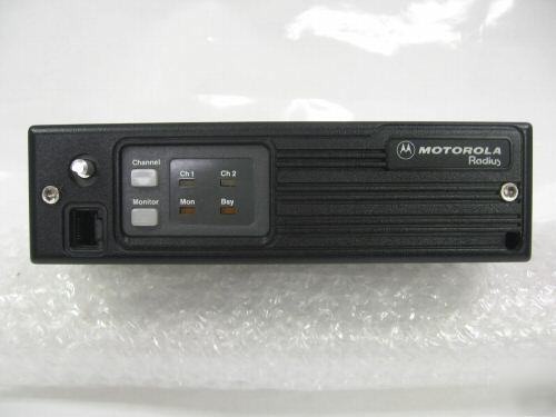 Motorola radius M100 uhf 449-470 mhz two-way radio.
