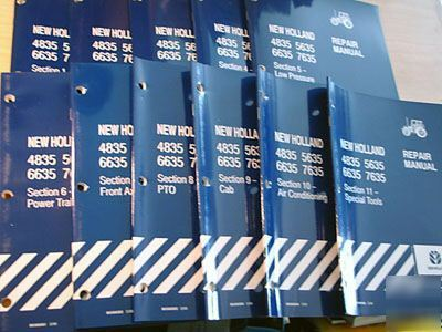 New Holland service manual 4835