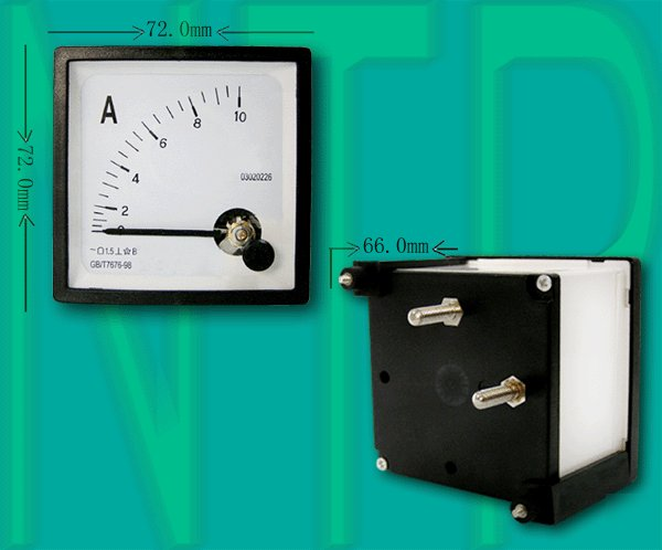 Analog Ac Amp Meter : Ac a analog ampere panel meter current amp ammeter