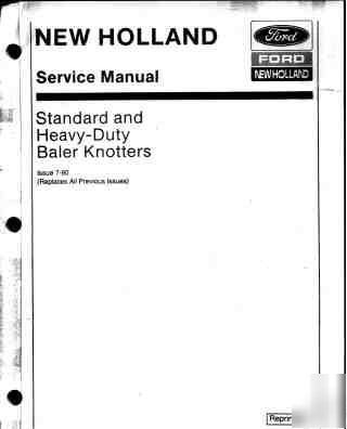 Nwe Holland Lx665 operators manual