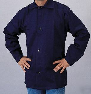New tillman blue welding protective jacket -large