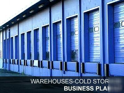 business plan of a cold storage hiring facility
