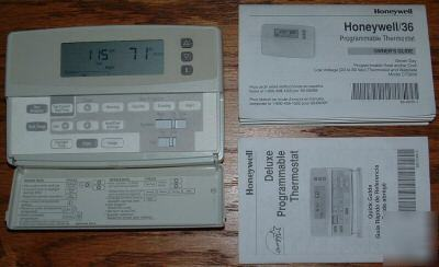 honeywell thermostats honeywell programmable thermostat recovery